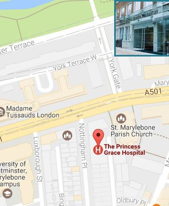 The Princess Grace Hospital Location Link